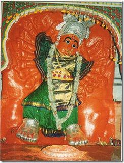 Goddess Saptashrungi Devi of Vani near Nasik city Maharashta